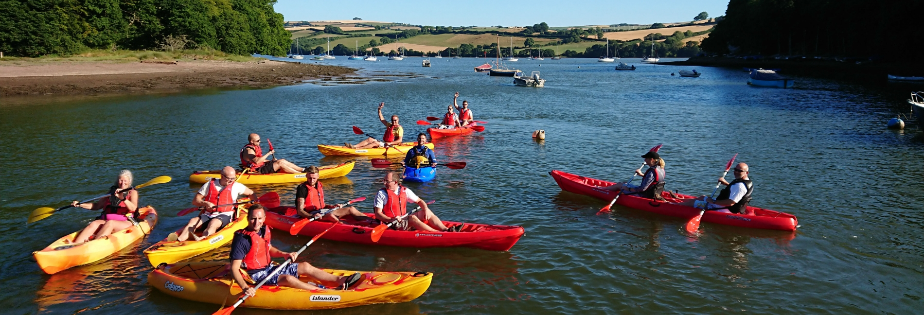 Kayak Hire Devon with Totnes Kayaks